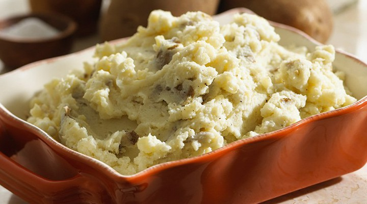 Quick & Healthy Mashed Potatoes
