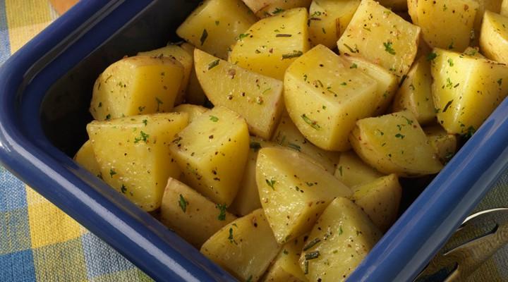 Microwave Roasted Potatoes