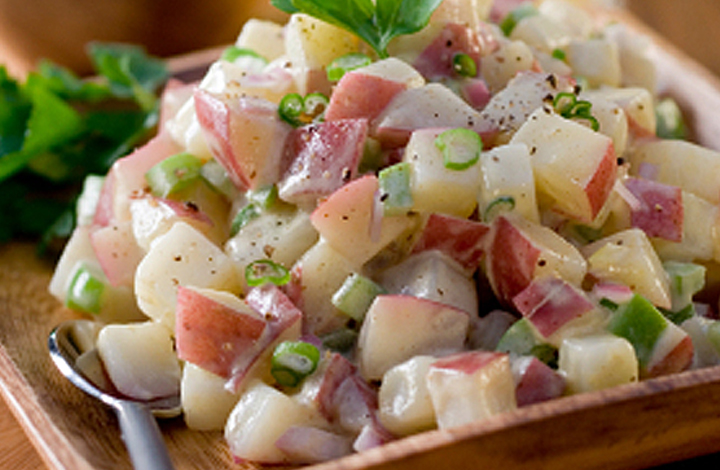 red potato salad feature